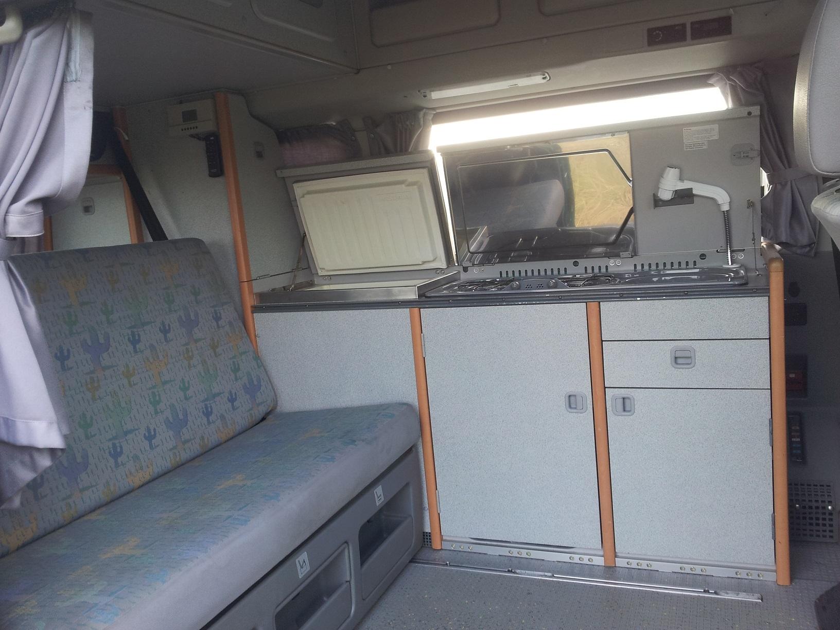 2 Personen Campervan Westfalia Highway Mit Flach Hochdach Und Glas